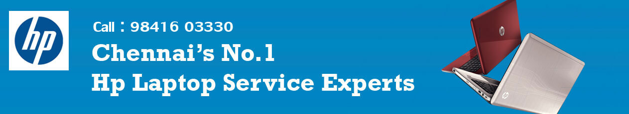 Hp Laptop Service Center in Velachery